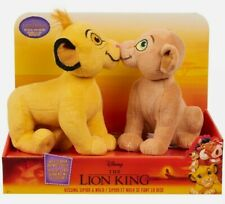 Disney's The Lion King Kissing Simba and Nala Plush Just Play New in Packaging
