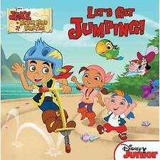 Jake and the Never Land Pirates Let's Get Jumping!, New, Disney Book Group, LaRo