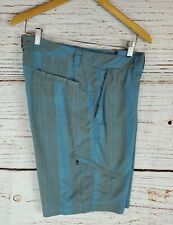 Columbia Shorts 38 Mens Blue Gray Packable Quick Dry Wet Dry Sports Cargo