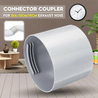 13/15cm 5/6'' Exhaust Hose Connector Coupler Air Conditioner Round Portable
