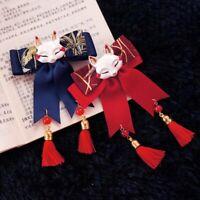 Japanese Tassel bow Hairpin lolita Fox Hair Band Headwear Accessories kawaii hot