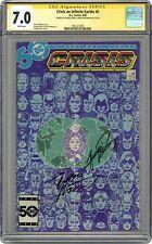 Crisis on Infinite Earths #5 CGC 7.0 SS 1985 1961472005