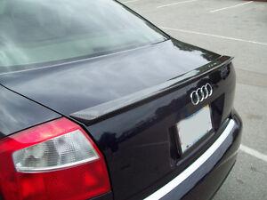 Carbon Audi A4 B6 Trunk Deck Lip Spoiler S-Line A Type S4 2001-2005 @