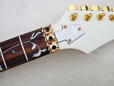 1set Electric Guitar Neck Maple Wood 24 Fret and tuners  Replacement parts