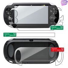 2in1 Clear Front LCD+Back Body Screen Protector Guard For Sony PS Vita PCH-1000