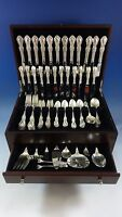 Wild Rose by International Sterling Silver Flatware Service 12 Set 95 Pieces