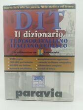 DIT Paravia. Il dizionario tedesco-italiano e italiano-tedesco. 1 edizione | New