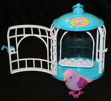 Little Live Pets Beauty Bella Moose Cage Bird Works Purple Singing Interactive
