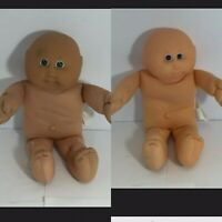 💜 LOT OF 2 VINTAGE CABBAGE PATCH KID CPK DOLL COLECO #1 #3 PREEMIE BOYS H9
