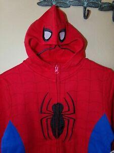 Marvel Spiderman Boys Hoodie Sweatshirt Jacket-5/6