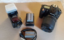 Nikon D90 12.3MP Digital SLR Camera - Kit w/ VR 18-105 mm Lens & SB-800 Flash