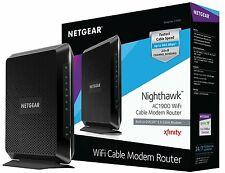 NETGEAR Nighthawk AC1900 (24x8) DOCSIS 3.0 WiFi Cable Modem Router (C7000)