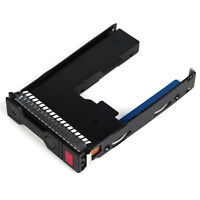 "2.5"" to 3.5"" HYBRID Tray Caddy Adapter For HP Proliant ML310E Gen8 G8 W/IC CHIP"