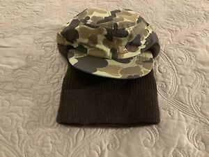 Cabelas Camouflage Hunting Cap Balaclava Face and Neck Cover, Size small