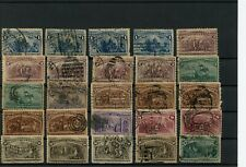 USA 1893 Columbian Expo Stamps collection to 15c