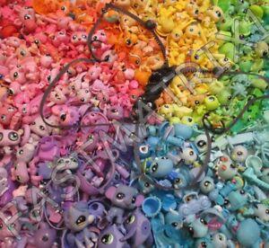 Littlest Pet Shop Lot 8 Random 4 Pets 4 Accessories Authentic Lps BUY 3 GET 1