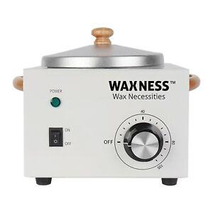 Waxness Single Wax Heater WN-5001L Luxury Edition Holds 16 Oz