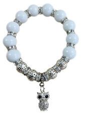 Modeschmuck-Armbänder aus Kunststoff mit Strass-Perlen