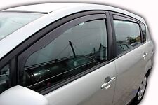 DTO29366 Toyota COROLLA VERSO 2004-2009 wind deflectors 4pc set TINTED HEKO