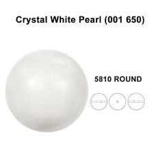 Swarovski 5810 Crystal Round Pearls Beads Jewelry Making *U Pick Color & Size