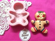 Christmas Cookie Silicone Mold Food Safe Cake Decoration Candy Cupcake (FDA)