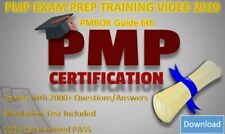 PMP Training Exam Pass Preps +Video Course +Question bank Aligned with PMBOK 6th