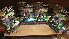 Teenage Mutant Ninja Turtles Movie Deluxe Leonardo Michelanglo Rapheal Donatello