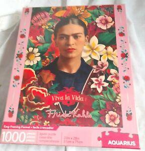 Frida Kahlo Viva La Vida 1000 piece jigsaw puzzle  NEW SEALED