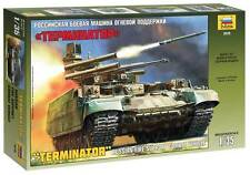 "ZVEZDA 3636 RUSSIAN FIRE SUPPORT COMBAT VEHICLE ""TERMINATOR"" MODEL KIT 1/35"