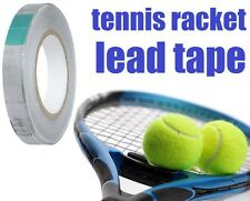 """Tennis Racket Lead Tape 100"""" x 1/2"""" Sticky Back Racquet Weight IMPROVE YOUR GAME"""