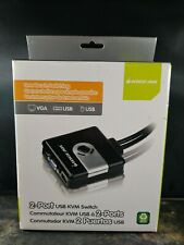Iogear 2-Port Usb Kvm Switch One Touch Switching