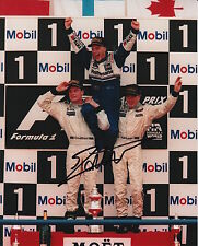 Jacques Villeneuve Hand Signed Williams Formula 1 10x8 Photo 7.