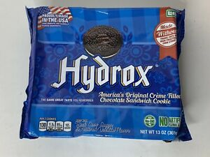 Hydrox Leaf Brands 13 Ounce Creme Filled Chocolate Sandwich Cookies Brand New