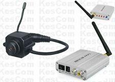 KC203D Mini Farb Funk Kamera Set überträgt Video u. Audio mit 4 Kanal Empfänger