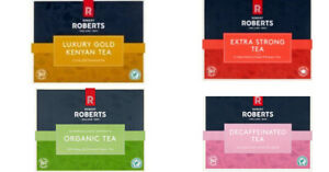Robert Roberts tea 80 tea bags 4 mix box