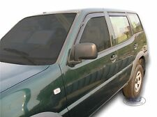 SET 4 DEFLETTORI ARIA  ANTITURBO per  Nissan Terrano II  5 PORTE 1993-2004