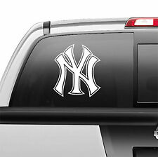 NY New York Yankees Pinstripe Window Sticker Vinyl Decal any size any color