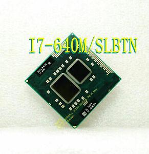 Intel Core i7 640M 2.8Hz (SLBTN) 4M 1066MHz PGA988 Notebook Processor