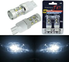 LED Light 50W 7443 White 5000K Two Bulbs Brake Stop Tail Replacement Upgrade OE