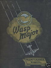PRATT & WHITNEY R-4360 WASP MAJOR - MAINTENANCE MANUAL