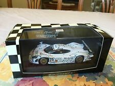 Minichamps Porsche 911 GT1, 2nd Le Mans 1998. Team Porsche in 1/43 scale