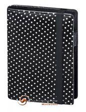 bsb Timeplaner 2018 Pocket Fashion Schwarz mit Punkte  Einlagen ca. 7,8x12cm
