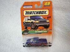 Matchbox 1999 Blue 97 Ford F-150 Game Warden Patrol Vehicle Truck
