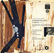 TELEFUNKEN SBT-459 BEETHOVEN Symphony 5 Egmont Overture KEILBERTH NM $4 Shipping