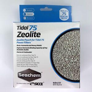 Seachem Laboratories 6514 75 Zeolite 250 ml Tidal Pouch Power Filter