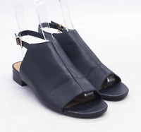 Marks & Spencer Womens UK Size 6 Black Sandals