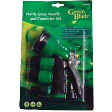 Verde Hoja de plástico Boquilla Y Conector Set guarniciones de manguera