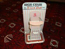 J Chien metal highchair still in package