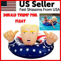 "Donald Trump Swimming Floats 47"" Inflatable Pool Raft Float Beach Party Gag Toy"