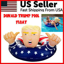 Donald Trump Swimming Floats Fun Inflatable Pool Raft Float Beach Party Gag Toy